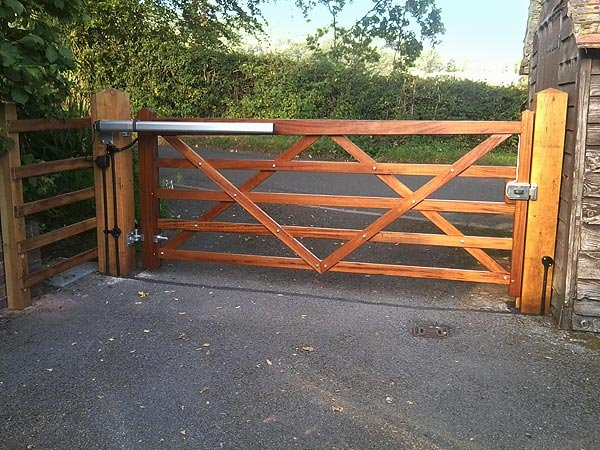 Commercial gate, Yard Gates-4