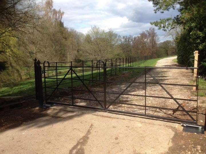 Commercial Gates, Yard Gates-17