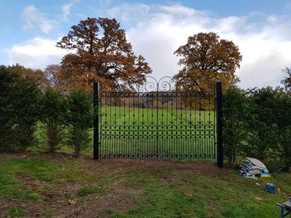Commercial Gates, Yard Gates-22