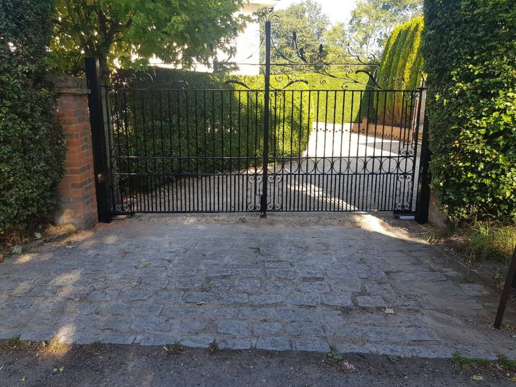 Commercial Gates, Yard Gates-25
