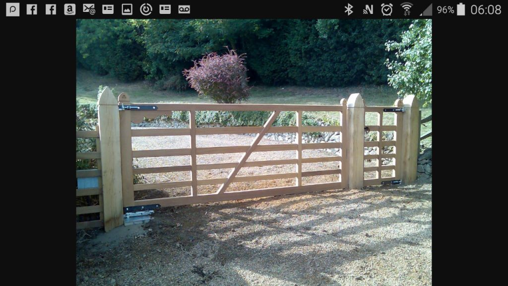Commercial gate, Yard Gates-13