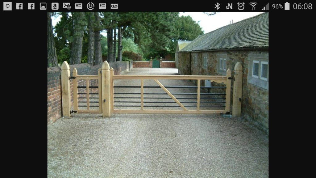 Commercial gate, Yard Gates-3