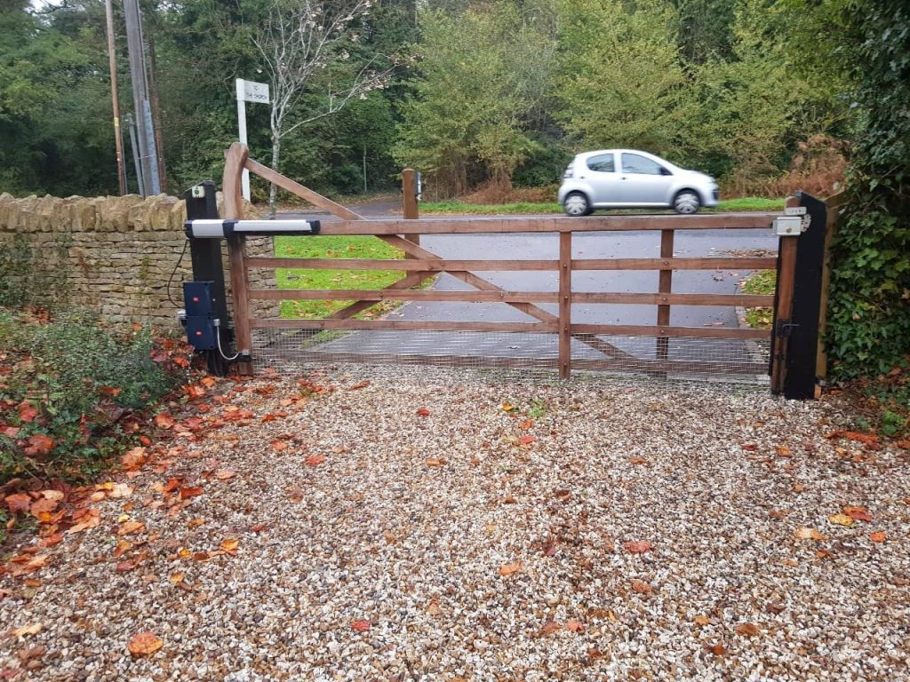 Commercial gate, Yard Gates-7