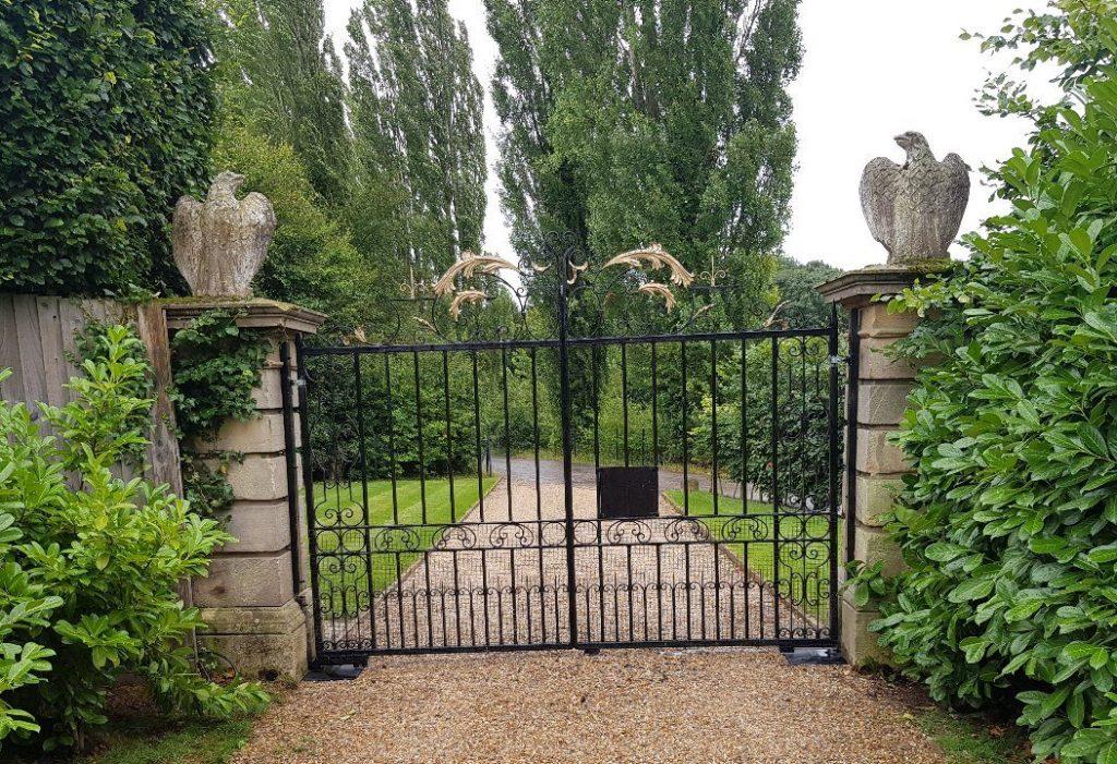 Commercial Gates Yard Gates-16