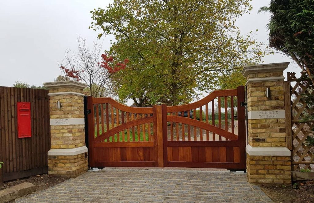 Residential gates, slider gate-4