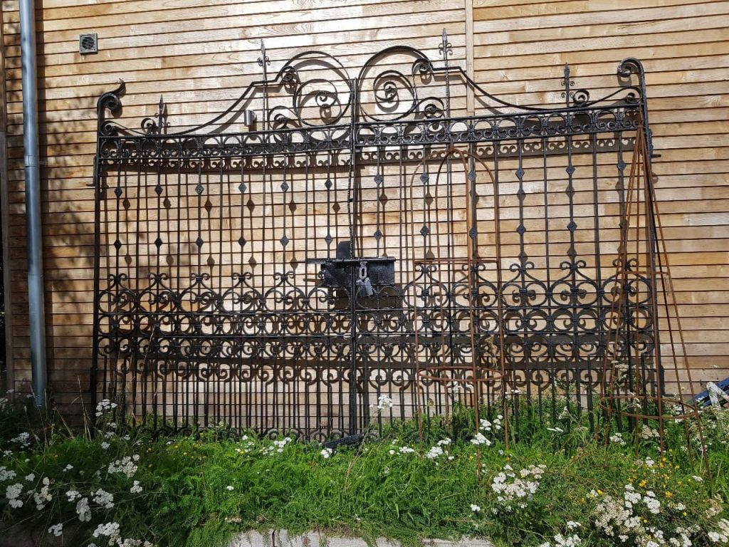 Residential gates, wrought iron gates-2