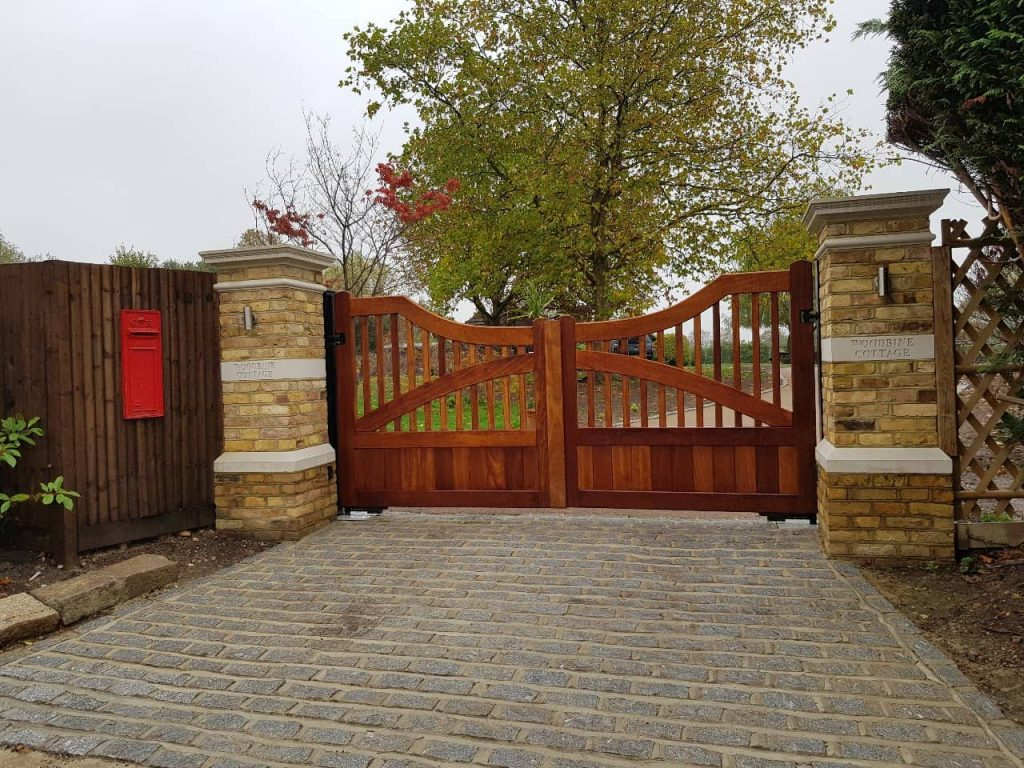 Residential gates slider gate-4